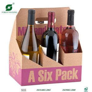 Accept Custom Made 6 Pack Beer Bottle Carrier pictures & photos