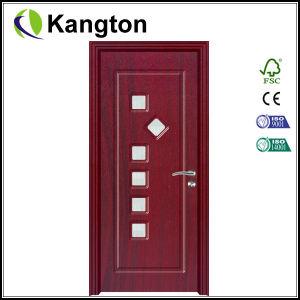 New 6mm Modle PVC Door with Glass (PVC glass door) pictures & photos