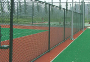 Ya Qi Chain Link Fence in High Quality Price pictures & photos