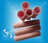 High Thermal Conductivity 99% Alumina Ceramic Tube pictures & photos