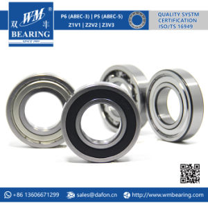 6208 2RS Low Friction Sealed Deep Groove Ball Bearing pictures & photos