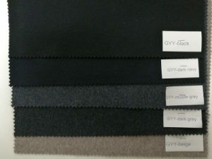 Solid Wool Fabric for Overcoat and Jacket pictures & photos