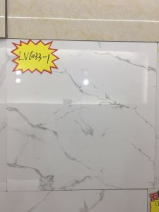 600*600mm Foshan White Marble Tile Polished Glazed LV6033-1 pictures & photos