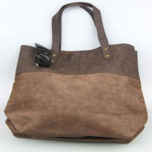 Brown Lady Leaisure PU Handbag Fashion Bags Supplier pictures & photos