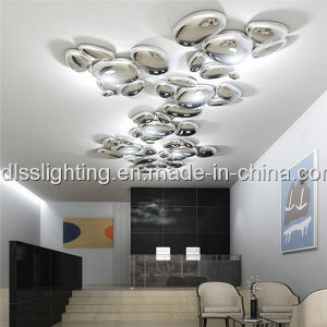 Contemporary Metal Acrylic Art Hotel Projects LED Ceiling Lighting pictures & photos
