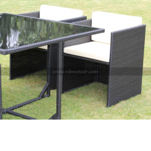 Wicker Rattan Garden Furniture Dining Set for Outdoor (MTC-016-KD) pictures & photos