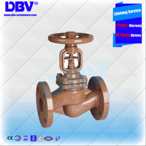 DIN Pn16 Handwheel GS-C25 Flange Bellow Globe Valve pictures & photos