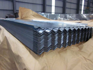 Wholesale Corrugated Metal Steel Zinc Galvanized Roofing Sheet pictures & photos