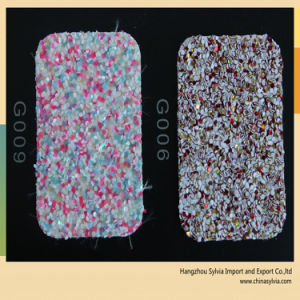 Shoe Upper Decorative Material Glitter pictures & photos