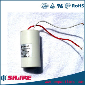 Cbb60 Single Phase Washing Machine Film Capacitor, Water Pump Capacitor pictures & photos