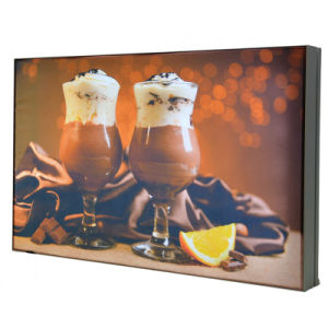Customized Design Full Color Advertising Light Box Frame pictures & photos