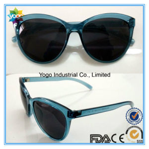 2017 OEM Fashion Cat Eye Oversized Woman Polarized Sunglasses pictures & photos