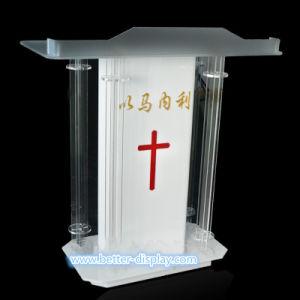Custom Acrylic Speech Podium Desk (BTR-M1012) pictures & photos