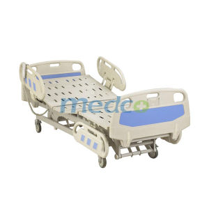 Linak Motor, Hospital Furniture Nursing Bed, Three Functions Electric Hospital Bed pictures & photos