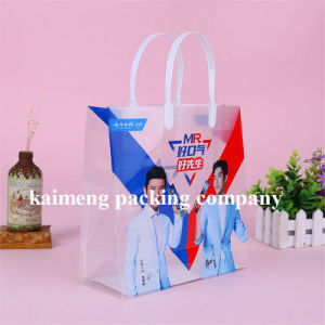 Real Factory Supply Foldable Clear PVC Plastic Gift Bags for Toothpasta Package pictures & photos
