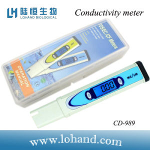 Water Testing Equipment Low Price Conductivity Meter (CD-989) pictures & photos