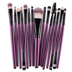 Best Selling 15PCS Makeup Brush Set Eye Shadow Foudation Lip Brush pictures & photos