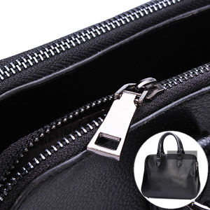 Women Hand Bag PU Leather Shoulder Bag Double Zipper Bag (BDMC110) pictures & photos