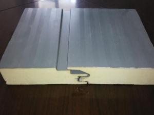 0.8mm PPGI Steel PU Sandwich Panel, Heat-Insulation PU Sandwich Panel pictures & photos
