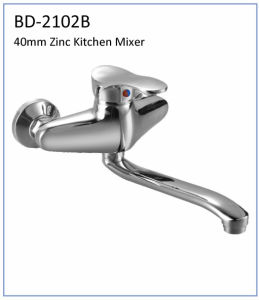 Bd2101b 40mm Zinc Wall Mounted Kitchen Faucet pictures & photos