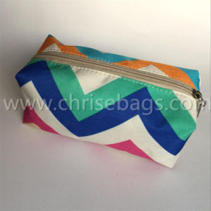 Nylon Simple Promotion Cosmetic Bag pictures & photos