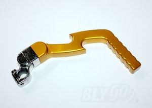 Gold CNC Heavy Duty Kick Start Starter Lever 110cc 125cc 140cc Pitpro Trail Dirt Bike
