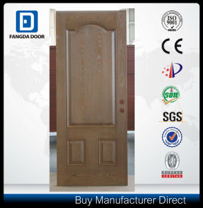 3 Panel Oak Texture Fiberglass Door pictures & photos