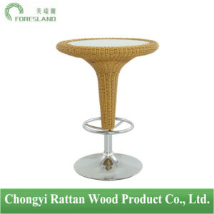 PE Rattan Weaving Bar Table PT-02 pictures & photos