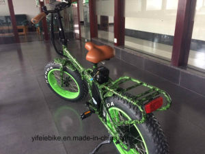 20 Inch Foldable Fat Ebike with Lithium-Ion Battery All Terrain pictures & photos