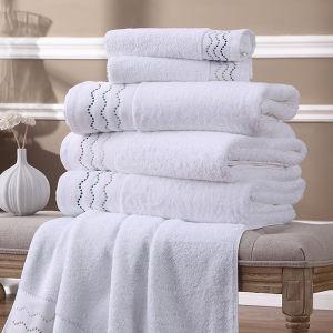 Turkish Cotton High Quality Luxury 16s Bathtowel Set pictures & photos