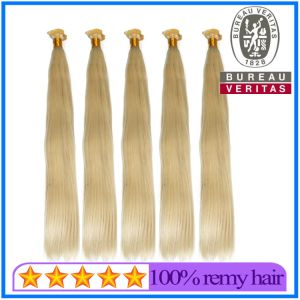 Blonde Flat Tip Hair Extension pictures & photos