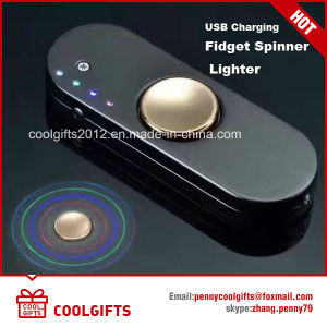 Hot Selling New USB Charging Hand Spinner Lighter pictures & photos