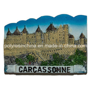 Resin Fridge Magnet for France Cite De Carcassonne pictures & photos