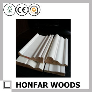 Canada White Primed Skirting for Hotel Building Project pictures & photos