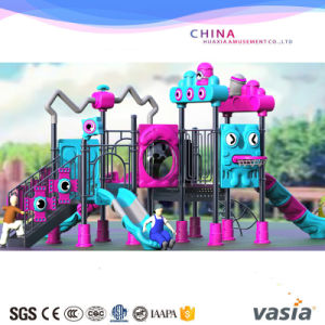 Big Outdoor Amusement Park and Children Plastic Playground for Shopping Mall pictures & photos