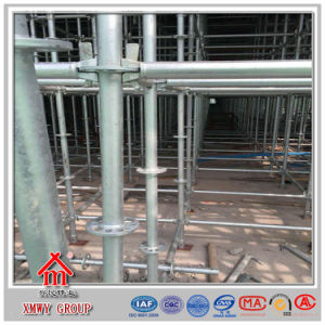 Q235 Bearing Concrete Construction Steel Pipe Ringlock Scaffold pictures & photos
