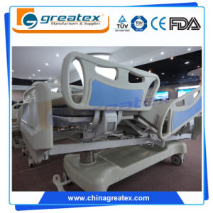 7 Function Linak Motors Lateral Tilt Luxurious Electric Hospital ICU Bed (GT-BE5039) pictures & photos