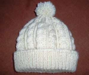 Made to Order Hand Knitted Hat with POM POM pictures & photos