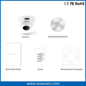CCTV 1080P Network Onvif Poe Waterproof IP Camera pictures & photos