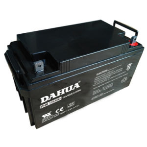 Hot Sale 12V 65ah Deep Cycle Solar Battery for Solar Systems pictures & photos