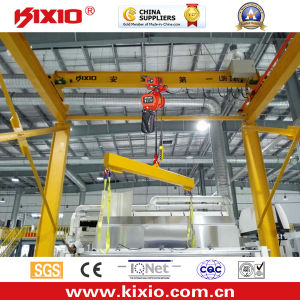 1t 360 Degree Rotation Lfiting Machine Jib Crane pictures & photos