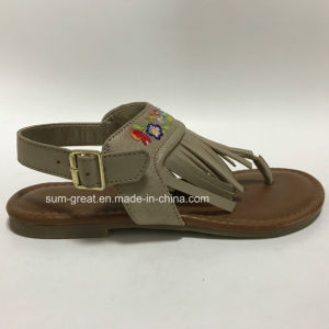 Sandals with PU Upper, Children Casual Shoes pictures & photos