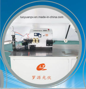 PV Ribbon (bus-bar) Right-Angle Bending and Cutting Machine (LY-ZWCQ-L) pictures & photos