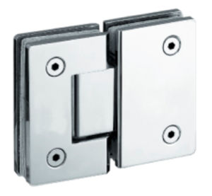 90 Degree Glass to Wall Brass Shower Door Hinge (FS-324) pictures & photos