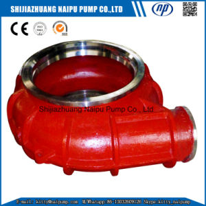 Replaceable 1.5/1b-Ahr Slurry Pump Parts Frame Plate Liner (B1036) pictures & photos
