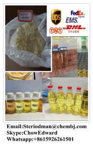 GMP Raw Anabolic Steroid Powder Horomone Trenbolone Acetate for Bodybuilding pictures & photos