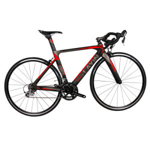 Super Light 20 Speed Road Bicycle with Carbon Fiber Frame pictures & photos