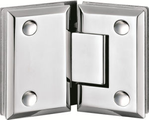 Hardware Frameless Glass Shower Door Hinges pictures & photos