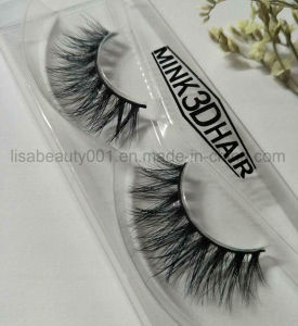 3D Luxurious 100% Mink Eyelashes Double Hair Natural Real Mink Fur Lashes