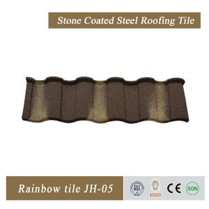 Hot Sale Stone Coated Steel Roofing Tiles pictures & photos